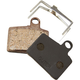 Red Cycling Products Hayes Stroker Ryde Disc Brake Pads Organic